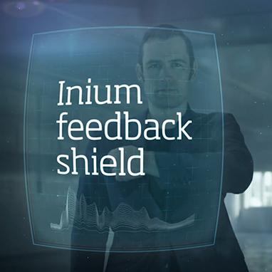 technologie oticon feedback shield larsen