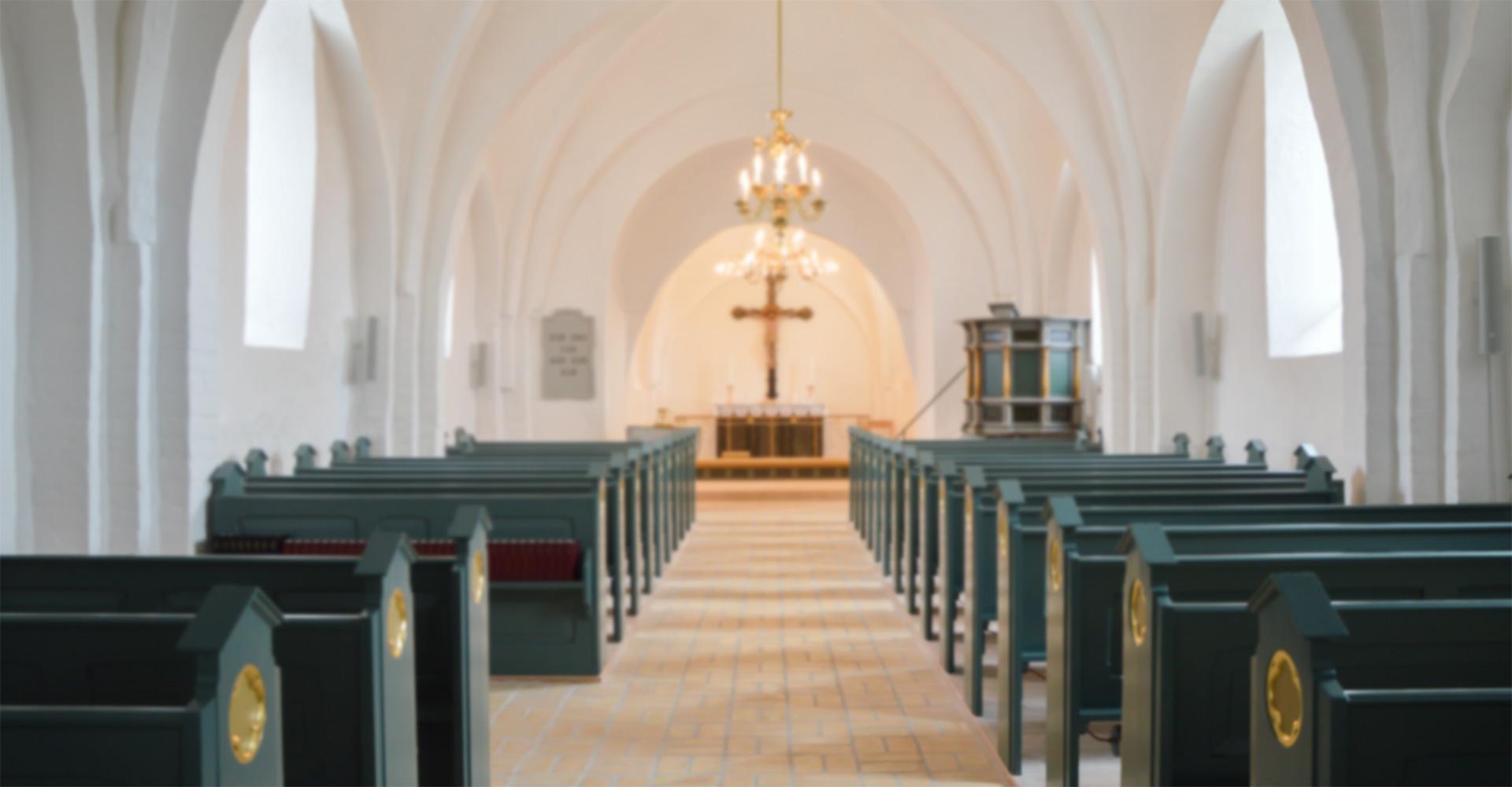 Lydløsninger og AV-udstyr fx til kirker