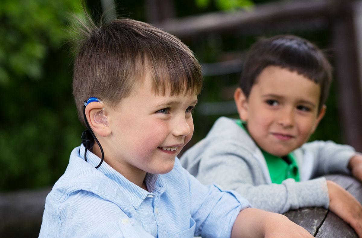 Sikkerhedssnor til høreapparater