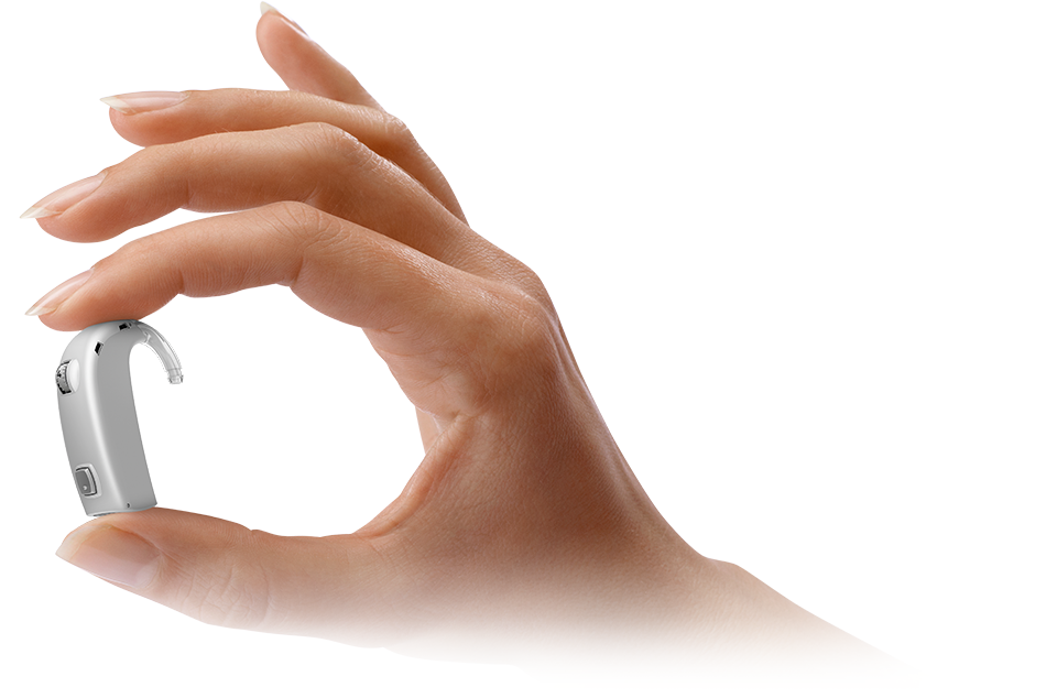 oticon dynamo dans une main