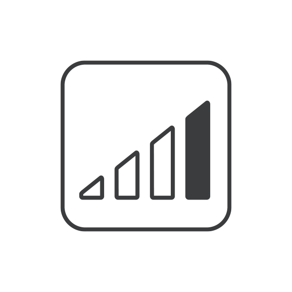 icone graphique à barres
