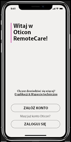 Oticon RemoteCare krok pierwszy