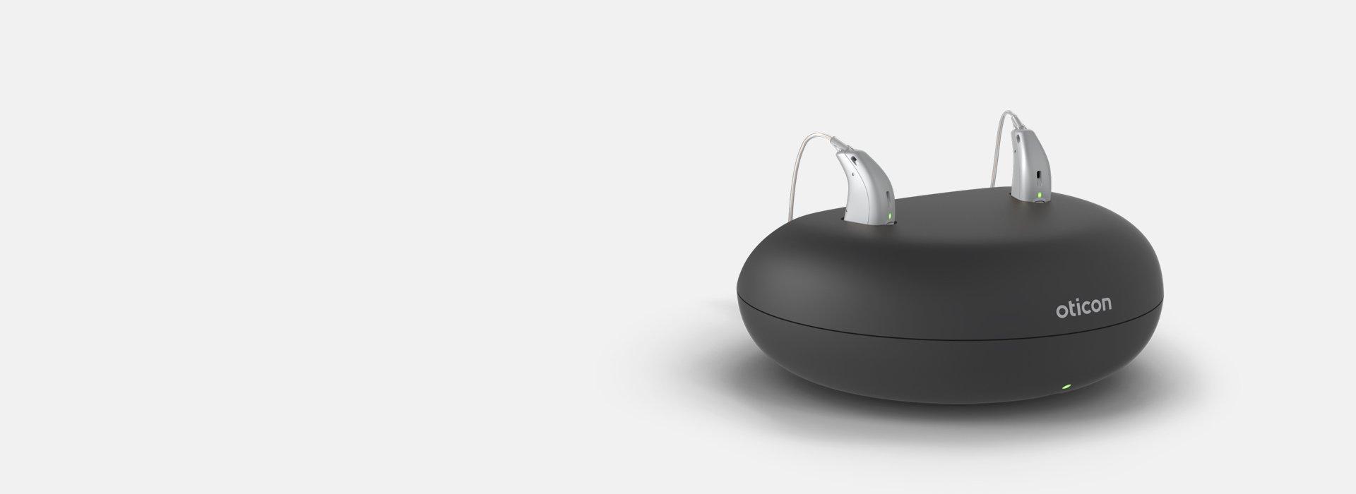 Ładowalne aparaty słuchowe