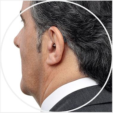 Aparat słuchowy z nasadką otwartą