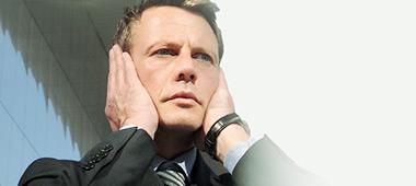 Problem ze słuchem spowodowany szumami usznymi