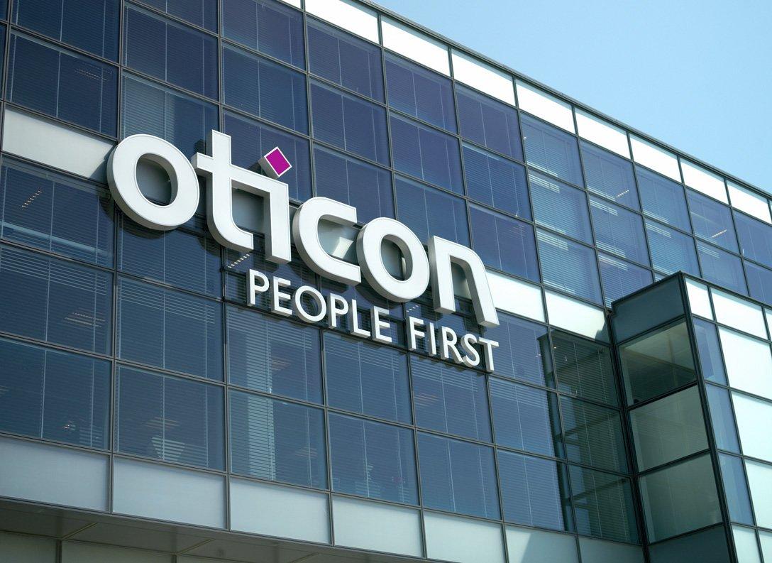 Oticon building