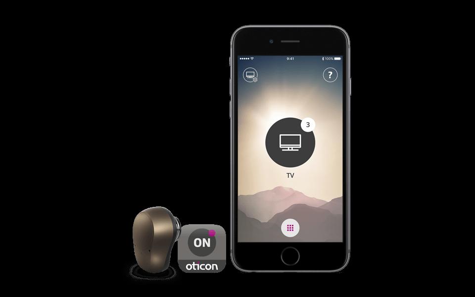 Ponto 4 - open sound navigator, oticon on app