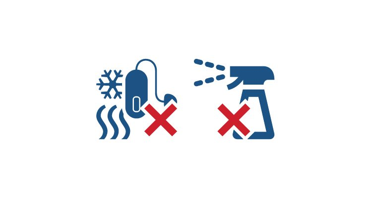 Simple tips to maximize the lifetime of your hearing aids. Avoid chemicals and extreme temperatures - Philips hearing aids.