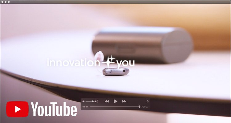 Encontre videos instrucionais no YouTube.elp you hear better, for you to connect better to others.