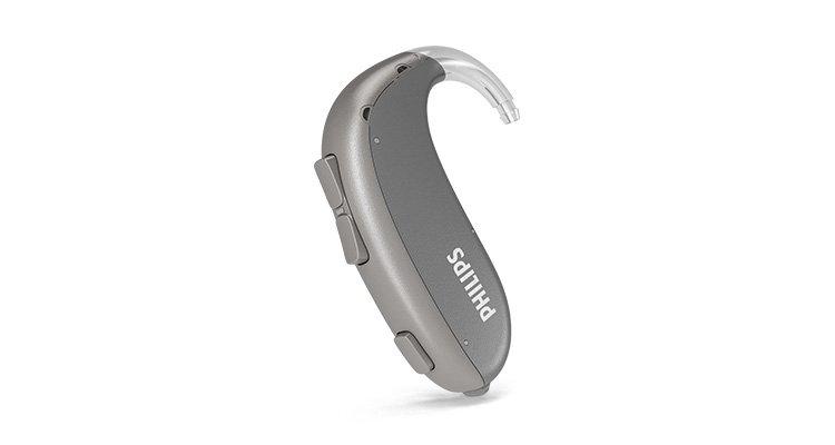 Appareil auditif le plus puissant et extrêmement robuste Philips HearLink, de type contour d'oreille (BTE UP)