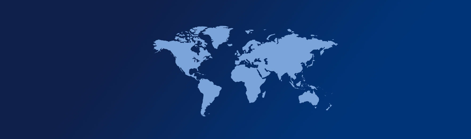 dark blue world map