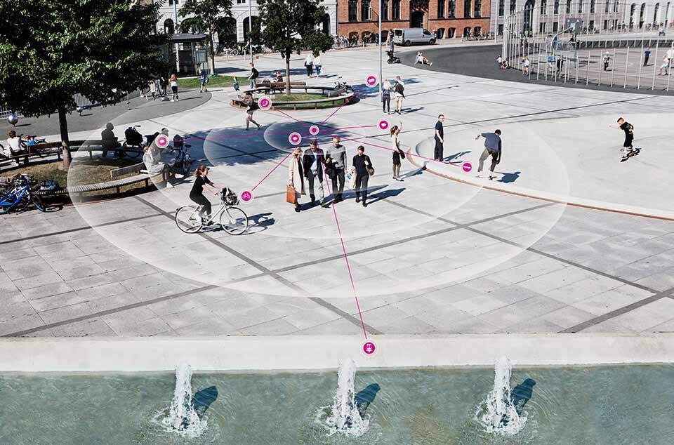 Technologie 360° dans le parc