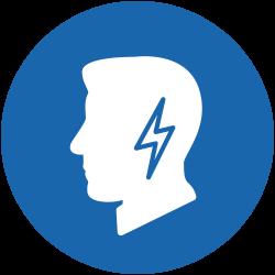 Symbole de la douleur à l'oreille