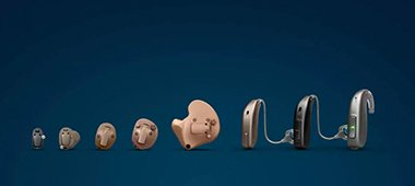 Types d'appareils auditifs