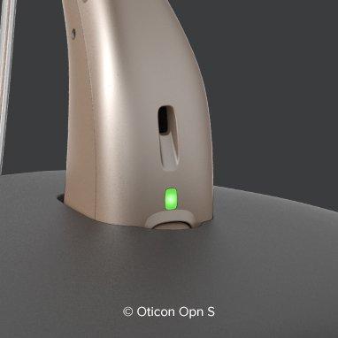 Appareils auditifs rechargeables état de charge