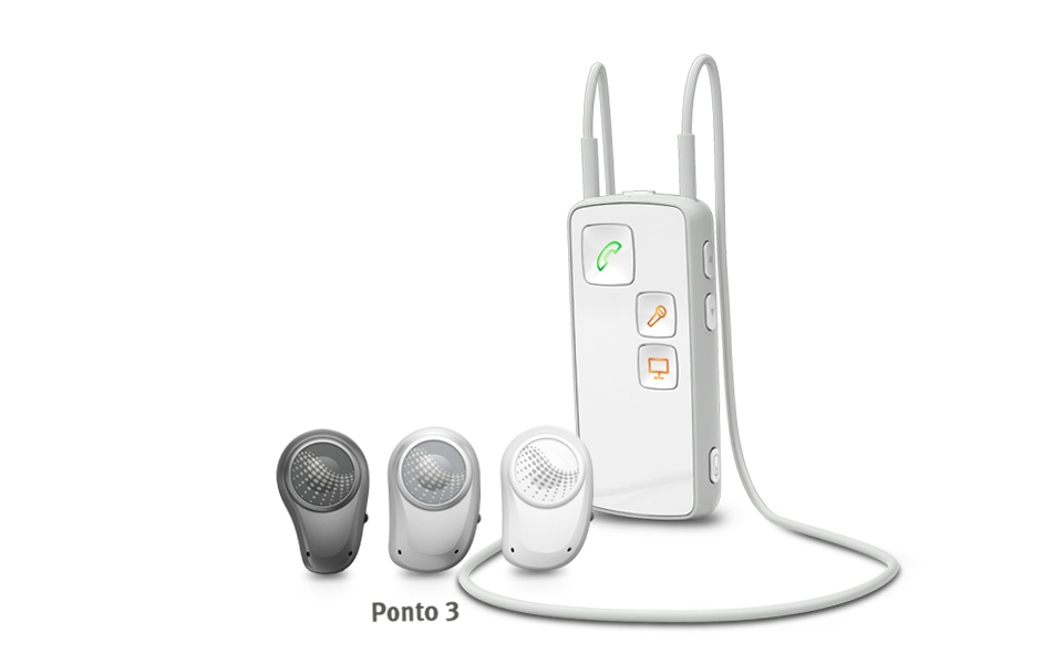 The Oticon Medical Streamer offers a discreet solution for connecting with Ponto.