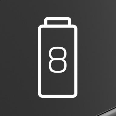 icone pile faible