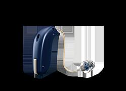 visuel produit appareil auditif opn couleur bleu