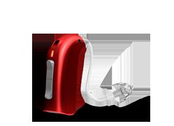 Oticon sensei appareil auditif pour enfants rouge