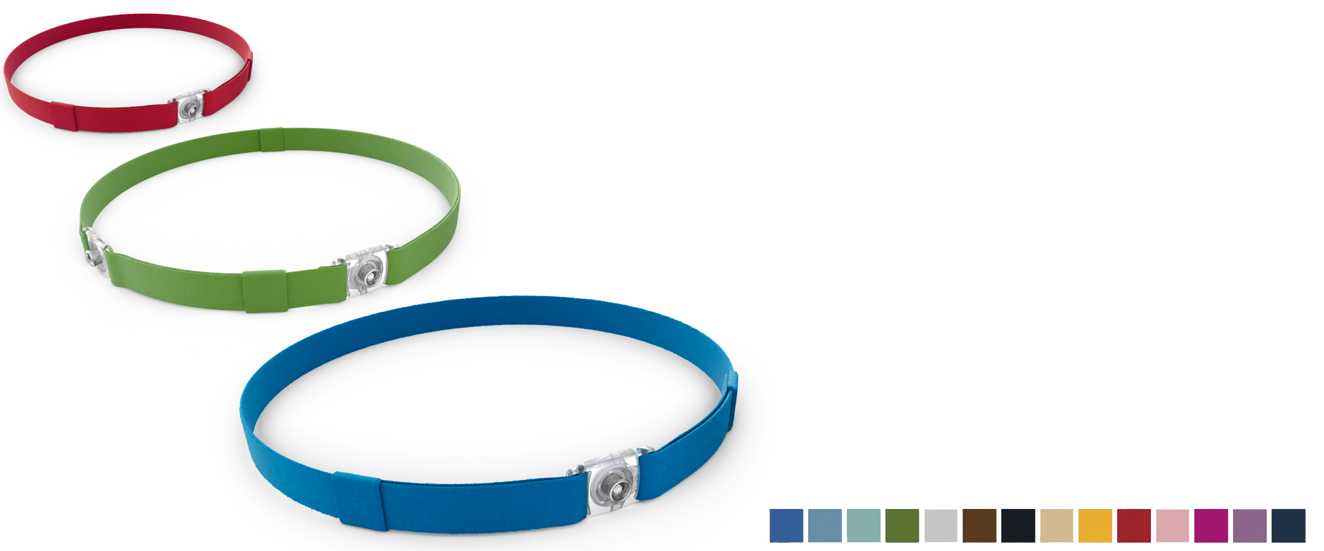the Ponto Softband colours