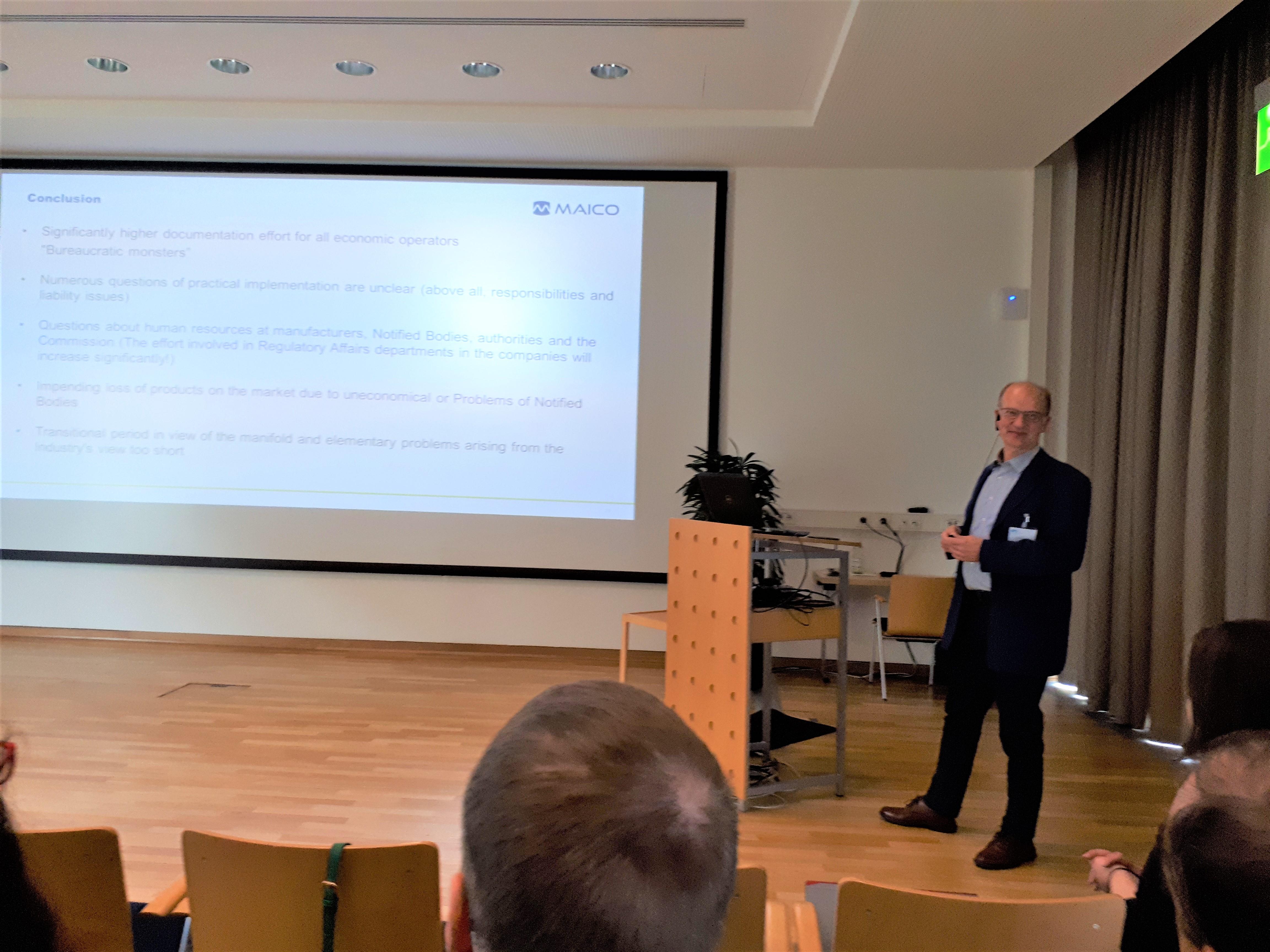 Uwe Ledworuski at PTB Workshop