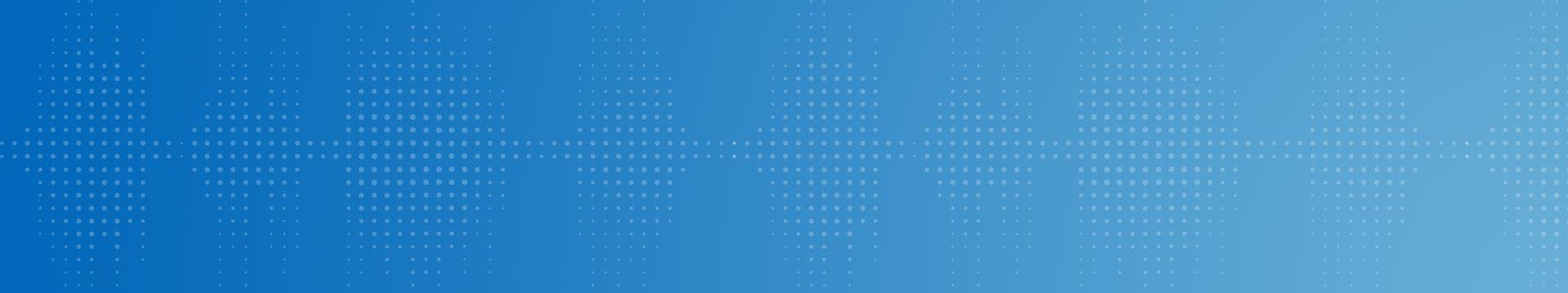 Sfondo blu con gradiente e punti