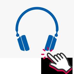 Inizia il test dell'udito online
