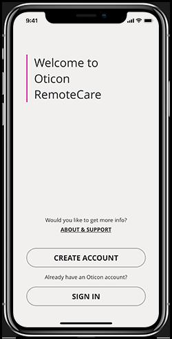 oticon-remotecare_login_screen_iphone_x_black
