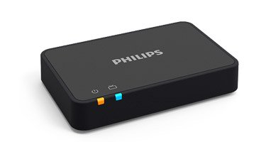 Adaptador de TV Philips - Transmita o som directamente para os seus aparelhos auditivos a partir da sua TV.