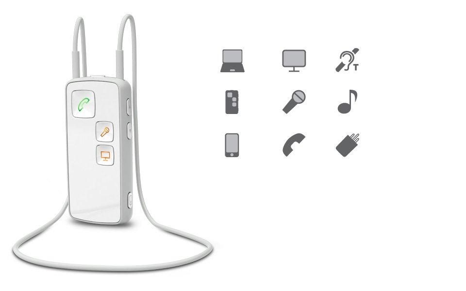 Oticon Medical streamer