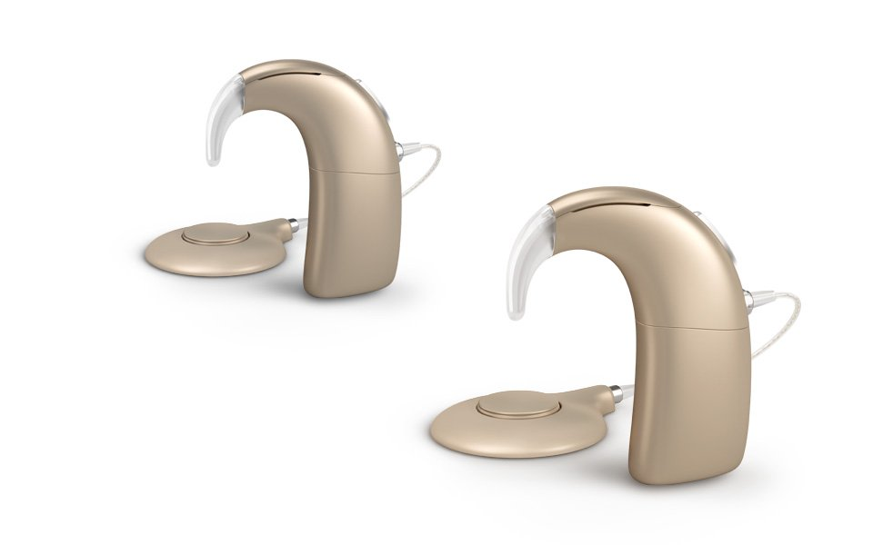 If you are deaf in both ears, you can have two cochlear implants.