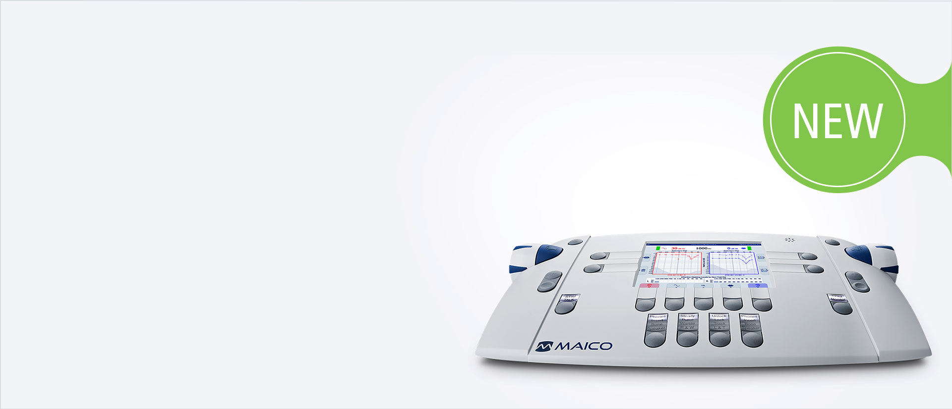 Audiometer PILOT TEST by MAICO - pure tone & speech audiometry for children