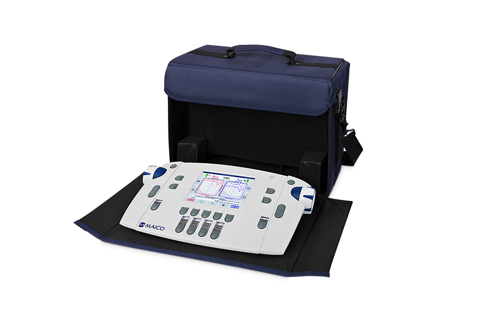 MAICO MA 42 Two-Channel Diagnostic Audiometer with Carry Case