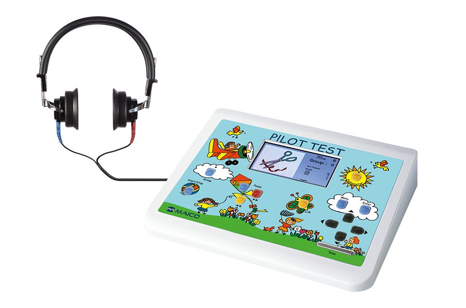 PILOT TEST Pure Tone Audiometer with Select Picture Audiometry