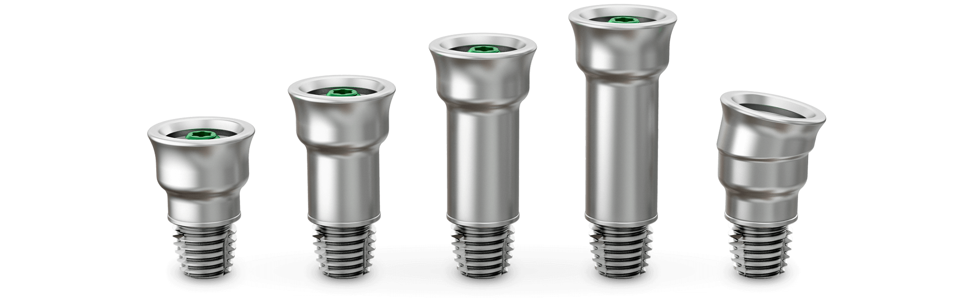 Ponto abutments - a wide range for different skin thicknesses