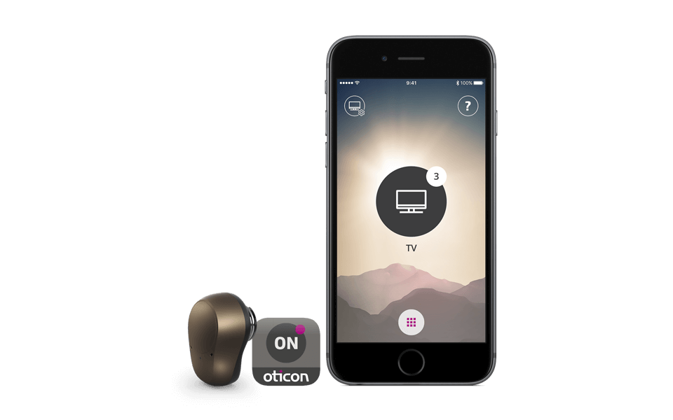 Ponto 4 - open sound navigator, oticon on app