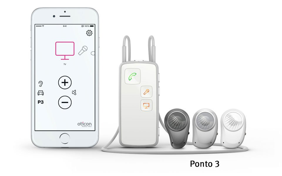 Ponto 3 and the Oticon Medical Streamer